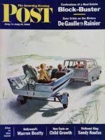 Saturday Evening Post, July 14 - 21, 1962 - Highway Boatride