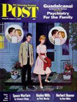 Saturday Evening Post, July 28, 1962 - Goodnight Kiss