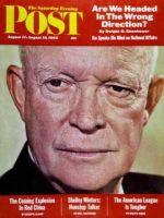Saturday Evening Post, August 11 - 18, 1962 - President Eisenhower