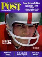 Saturday Evening Post, September 8, 1962 - Pigskin Preview, 1962