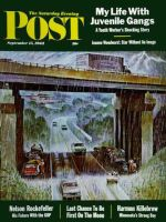 Saturday Evening Post, September 15, 1962 - Convertibles Take Cover in Rain