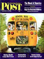 Saturday Evening Post, September 22, 1962 - School Bus
