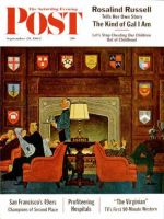Saturday Evening Post, September 29, 1962 - Transitor Radio in the University Club