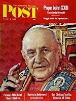 Saturday Evening Post,  October 6, 1962 - Pope John XXIII