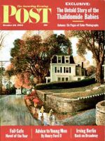 Saturday Evening Post, October 20, 1962 - Walking Home in the Rain