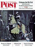 Saturday Evening Post, November 3, 1962 -