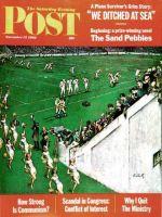 Saturday Evening Post, November 17, 1962 - Baton Twirlers Leave the Field