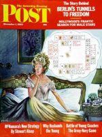 Saturday Evening Post, December 1, 1962 - Bridge Hand Disturbs Sleep