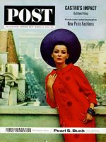 Saturday Evening Post, March 16, 1963 - Paris Fashions