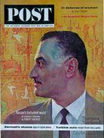 Saturday Evening Post, May 25, 1963 - Nasser (Rockwell)
