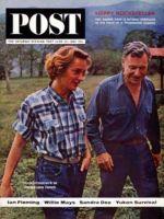 Saturday Evening Post, June 22, 1963 - Newlyweds Happy & Nelson Rockefeller