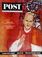 Saturday Evening Post, July 27 - August 3, 1963 - Pope Paul VI