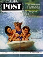 Saturday Evening Post, August 24 - 31, 1963 - Skiboarding Behind Motorboat