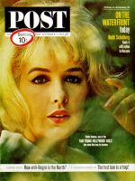 Saturday Evening Post, September 7, 1963 - Stella Stevens