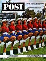 Saturday Evening Post, October 5, 1963 - Kilgore College Cheerleaders