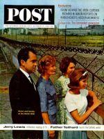 Saturday Evening Post, October 12, 1963 - Nixons at the Berlin Wall
