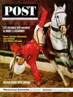 Saturday Evening Post, October 26, 1963 - Cossack Stunt Rider