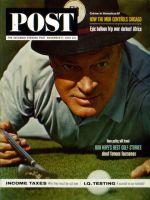 Saturday Evening Post, November 9, 1963 - Bob Hope Makes the Putt