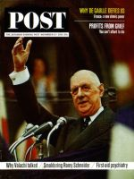 Saturday Evening Post, November 23, 1963 - Charles de Gaulle