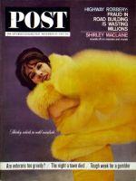 Saturday Evening Post, November 30, 1963 - Shirley MacLaine