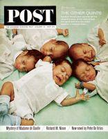Saturday Evening Post, January 18, 1964 - Prieto Quintuplets