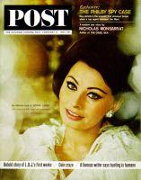 Saturday Evening Post, February 15, 1964 - Sophia Loren