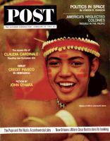 Saturday Evening Post, February 29, 1964 - Micronesian Girl