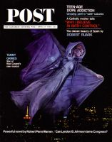 Saturday Evening Post, April 4, 1964 - Tammy Grimes in