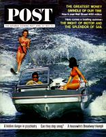Saturday Evening Post, April 25, 1964 - Water Skiing
