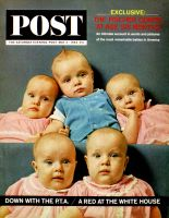Saturday Evening Post, May 2, 1964 - Fischer Quints at Six Months