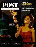 Saturday Evening Post, June 6, 1964 - Julie Newmar
