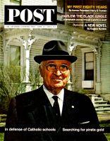 Saturday Evening Post, June 13, 1964 - Former President Harry S. Truman