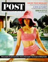 Saturday Evening Post, June 20, 1964 - Pink Two-Piece Swimsuit