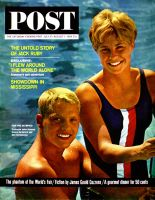 Saturday Evening Post, July 25 - August 1, 1964 - Olympic Swimmers