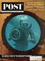 Saturday Evening Post, September 5, 1964 - Sealab Diver