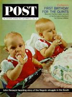 Saturday Evening Post, September 26, 1964 - Fischer Quints at One Year