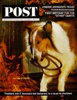 Saturday Evening Post, October 3, 1964 - Lassie! Get Help!