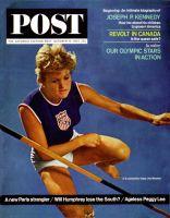 Saturday Evening Post, October 10, 1964 - Olympic Pentathlete