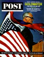 Saturday Evening Post, October 24, 1964 - Campaigning Barry Goldwater