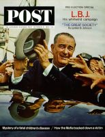 Saturday Evening Post, October 31, 1964 - LBJ