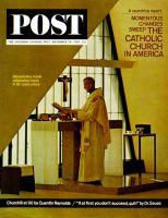 Saturday Evening Post, November 28, 1964 - Benedictine Monk