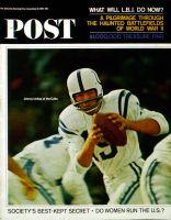 Saturday Evening Post, December 12, 1964 - Johnny Unitas
