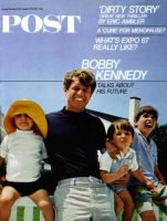 Saturday Evening Post, August 26, 1967 - Bobby Kennedy & Kids