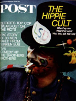 Saturday Evening Post, September 23, 1967 - Hippie in Top Hat