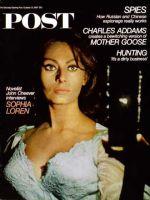 Saturday Evening Post, October 21, 1967 - Sophia Loren