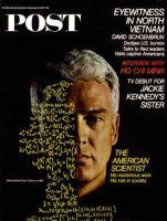 Saturday Evening Post, December 16, 1967 - Mathematician Paul Gilmore
