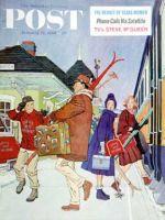 Saturday Evening Post, January 14, 1961 - Wrong Week at the Ski Resort