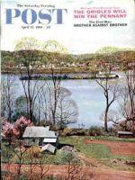 Saturday Evening Post, April 15, 1961 - Ohio River in April