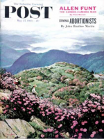 Saturday Evening Post, May 27, 1961 - Appalachian Rhododendrons