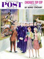 Saturday Evening Post, August 12, 1961 - Girl-Watching Sailors